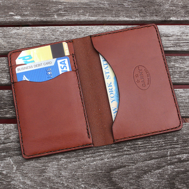 Handmade Simple Man S Minimalist Leather Wallet